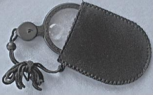 Lighted Necklace Magnifier with Pouch