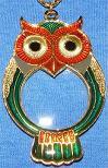 Owl Pendant/Magnifier