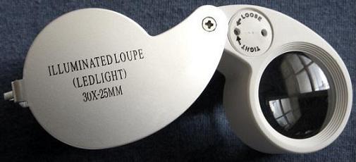 Lighted 30X Eyeloupe
