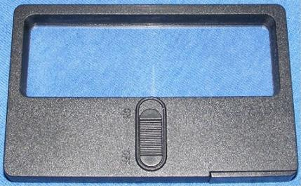 Lighted Credit Card Magnifier, Front View