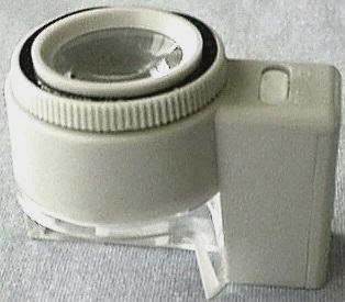 Metered 8X Dome Magnifier, Light Off