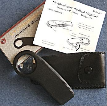 Lighted 14x Reading Magnifier
